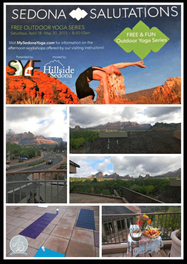 Collage - Sedona Yoga